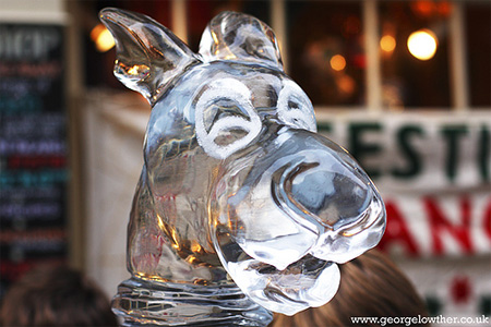 Scooby Doo Ice Sculpture 2