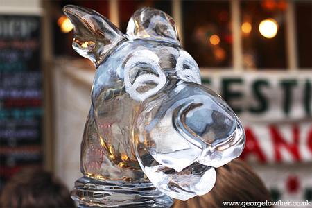 Scooby Doo Ice Sculpture 2