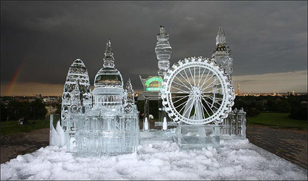 London Ice Sculpture
