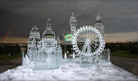 London Ice Sculpture