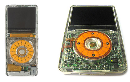 Transparent iPod Case