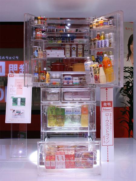 Transparent Refrigerator