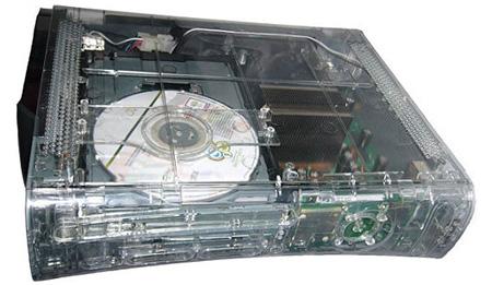 Transparent Xbox 360