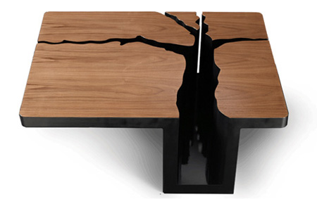 Unique and creative tree table designs for Creative design table
