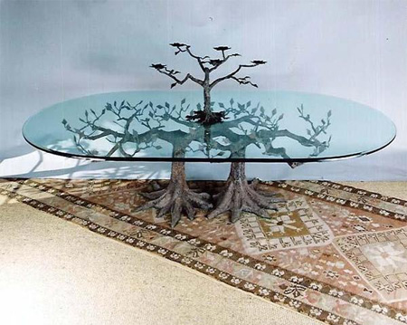 Glass Tree Tables 2