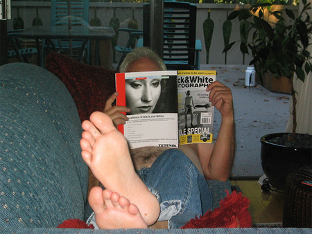 Trick Photography with Books and Magazines 19