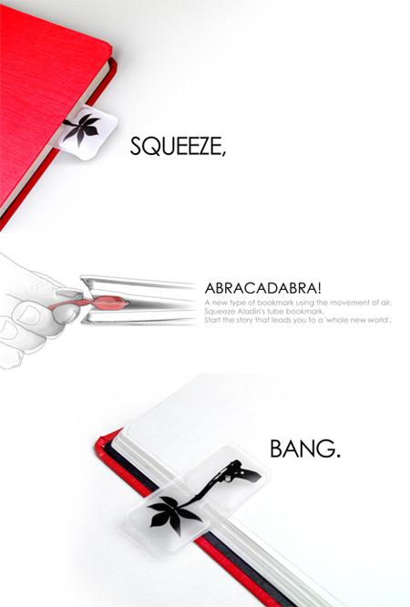 Abracadabra Puffy Bookmark