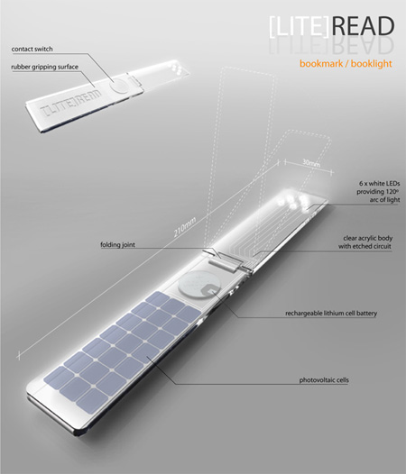 LED Bookmark Booklight 2
