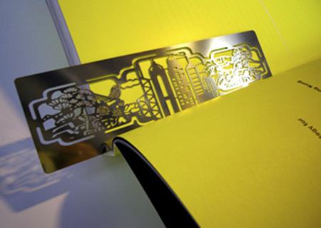 Skyline Bookmark