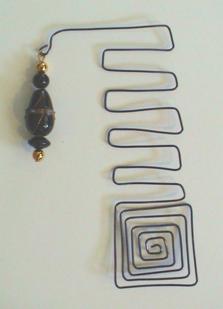 Beaded Wire Bookmark