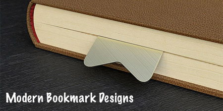 Modern and Creative Bookmark Designs