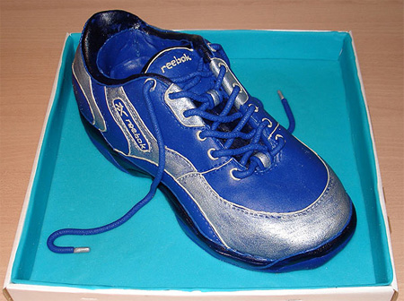 Reebok Shoe Cake