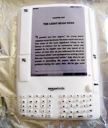 Amazon Kindle Cake