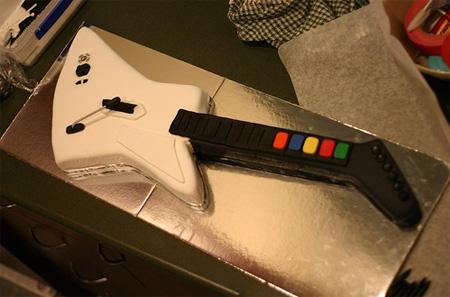 Guitar Hero II Cake