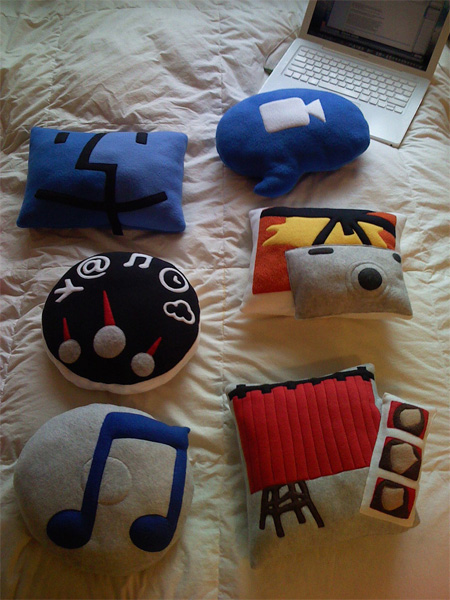 Mac OS X Icons Pillows