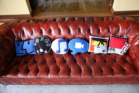 Mac OS X Icons Pillows 2