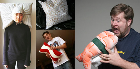Unique Pillows and Creative Pillow Designs Seen On www.coolpicturegallery.net Unique Pillows and Creative Pillow Designs