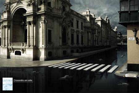 Latina Insurance Crocodile Crosswalk