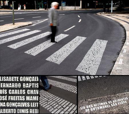 Zebra Crossing Memorial