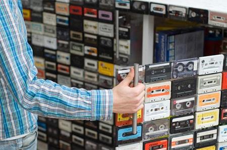 Cassette Tape Closet 2