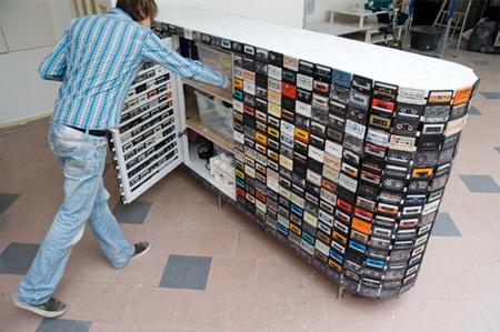 Cassette Tape Closet 3