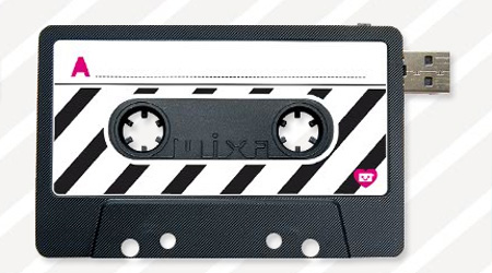 Cassette Tape MIXA USB Flash Drive