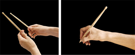 Drumstick Pencils Promote Drum Lessons