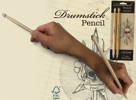 Drumstick Pencil by Moko Sellars
