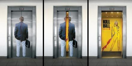 Clever and Creative Elevator Advertising