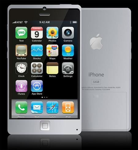 Titanium Apple iPhone Concept