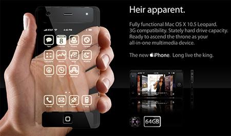 Futuristic iPhone Concept