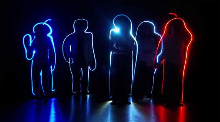 Light Writing Music Video
