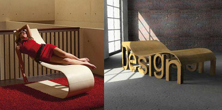 Modern and Creative Long Chairs