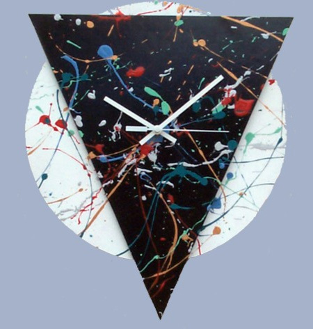 Splatter Clock