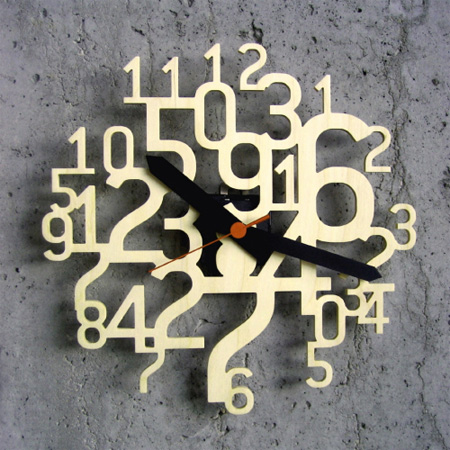 Uhrzahl Clock