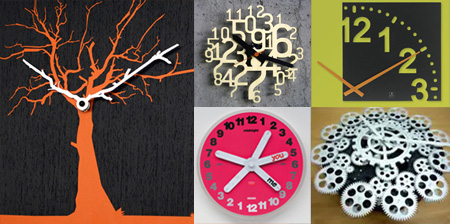Modern Clocks And Creative Clock Designs