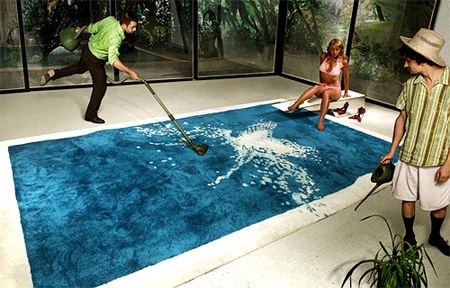 Swimming Pool Rug