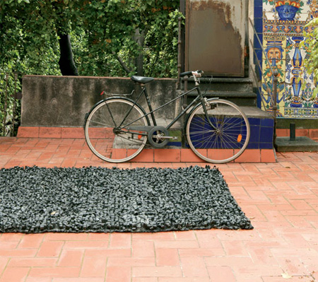 Bicycle Tires Rug