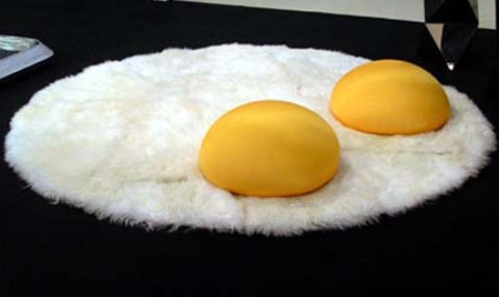 Breakfast Eggs Rug