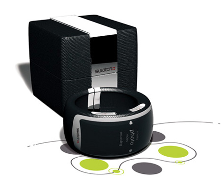 Swatch Infinity MP3 Player Watch