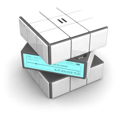 Rubiks Cube MP3 Player
