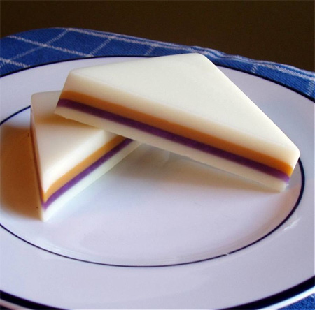 PB and J Sandwich Soap