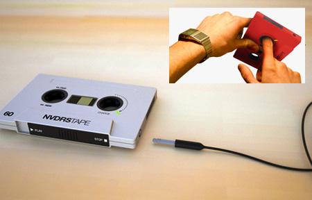 NVDRS Cassette Tape MP3 Player Concept