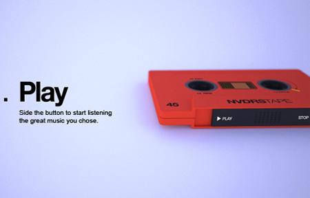 NVDRS Cassette Tape MP3 Player Concept 2