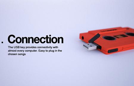 NVDRS Cassette Tape MP3 Player Concept 3