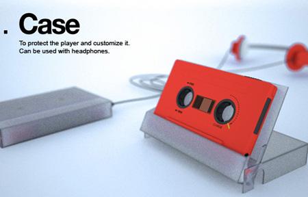 NVDRS Cassette Tape MP3 Player Concept 5