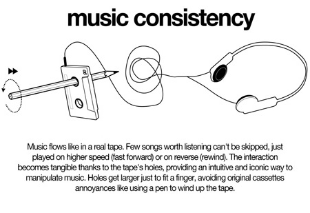 NVDRS Cassette Tape MP3 Player Concept 9