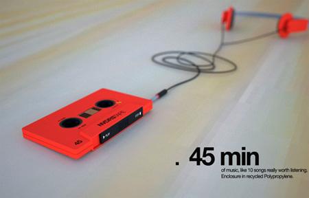 NVDRS Cassette Tape MP3 Player Concept 11
