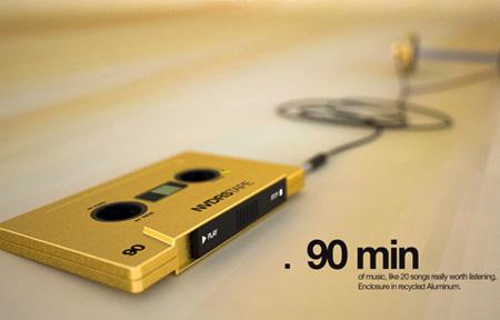 NVDRS Cassette Tape MP3 Player Concept 12