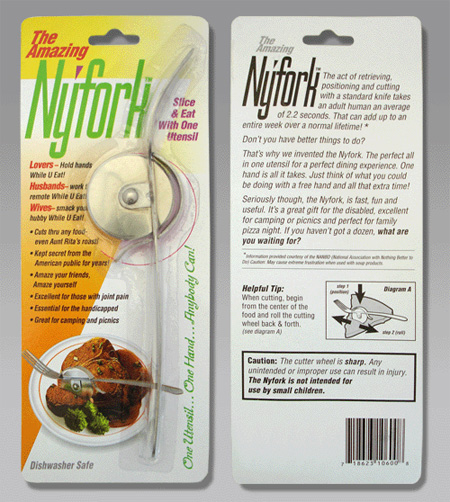 NyFork Pizza Cutter